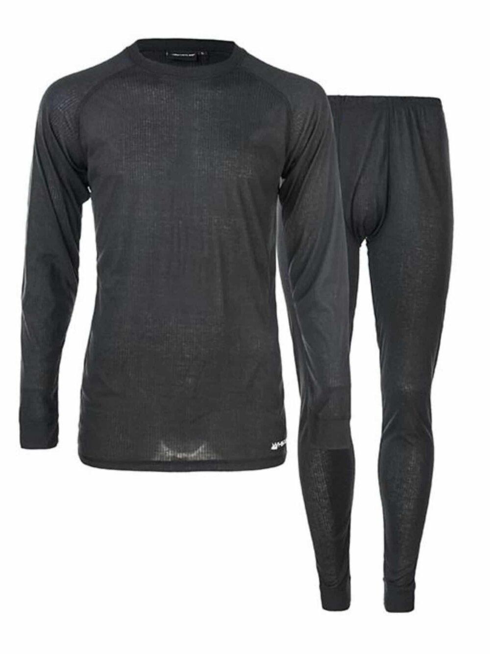 Whistler Oppdal M Ski Underwear Set Black