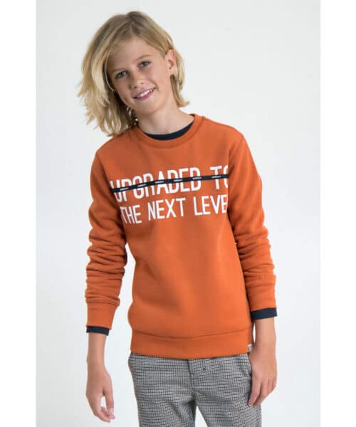 Garcia Sweatshirt J93660 Storm Orange