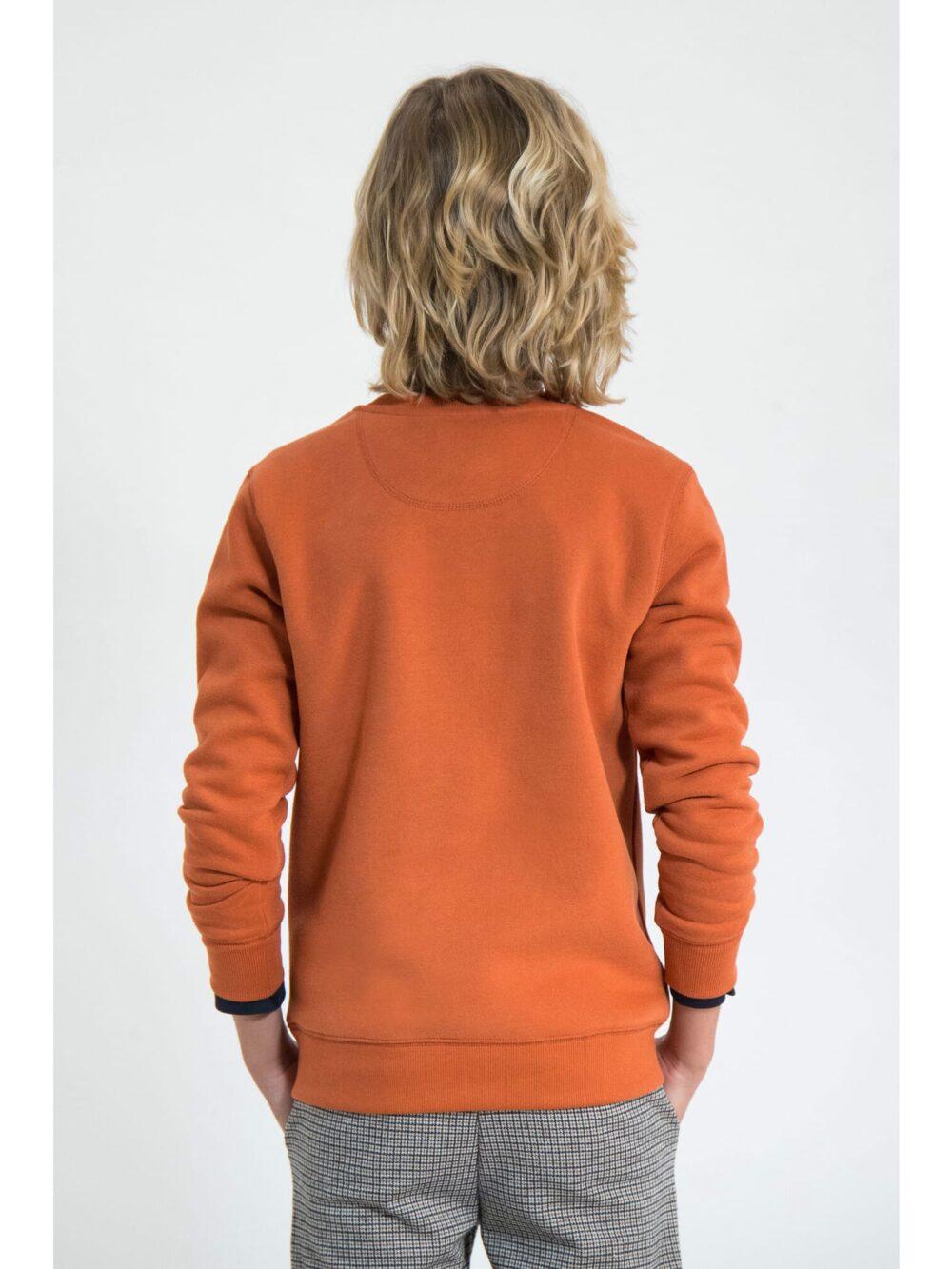 Garcia Sweatshirt J93660 Storm Orange