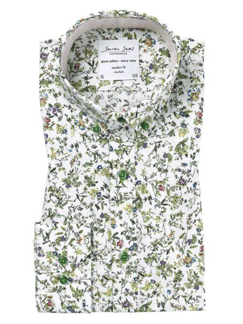 Seven Seas Skjorte Blossom Mojito