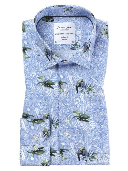 Seven Seas Skjorte Jungle