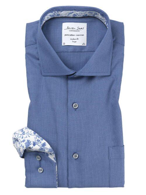 Seven Seas Skjorte Royal Oxford