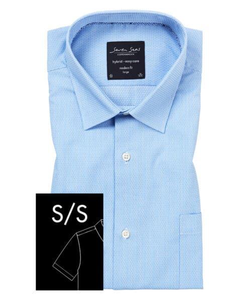 Seven Seas Skjorte Jefferson W/Reagan Kortærmet