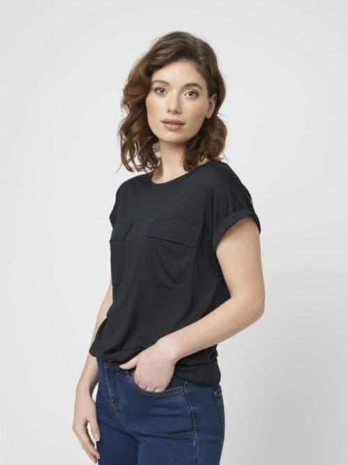 Soyaconcept GIDA 2 T-shirt Black