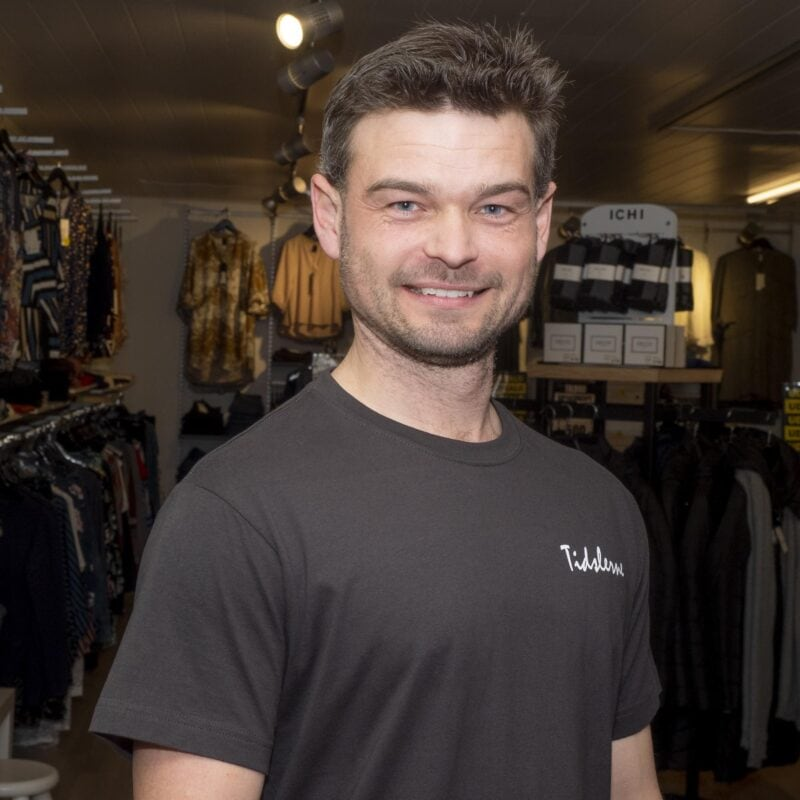 Tidslerne herre t-shirt (dark grey)