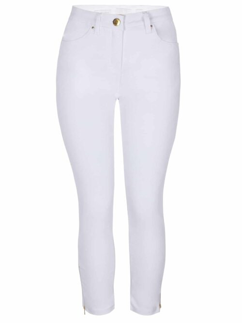 ZE-ZE Nordic SANNE 348 Super Stretch Twill Pants Hvid