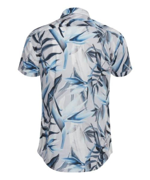 Blend Skjorte SS 20710893 Chip Grey