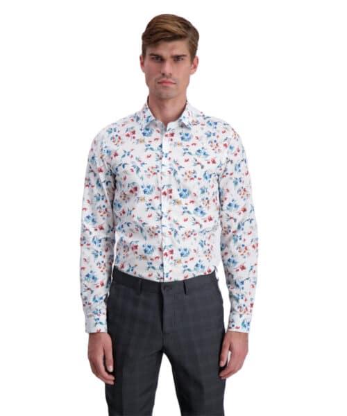 Lindbergh Technical Shirt 30-242008 White