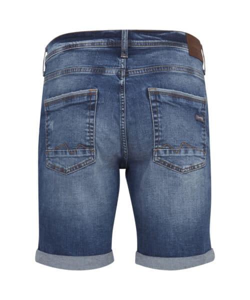 Blend Denim Shorts Denim Middle Blue 20709710