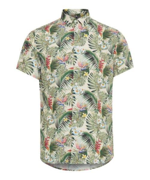 Blend Hawaii Skjorte Almond White