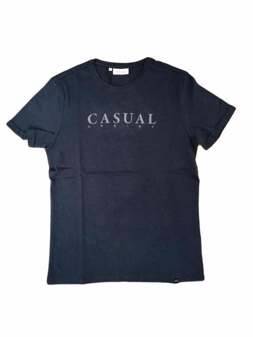 Casual Friday Trond T-shirt Navy Blazer