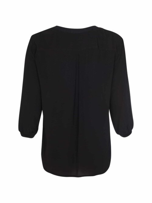 One Two Luxzuz Paulina Blouse Black