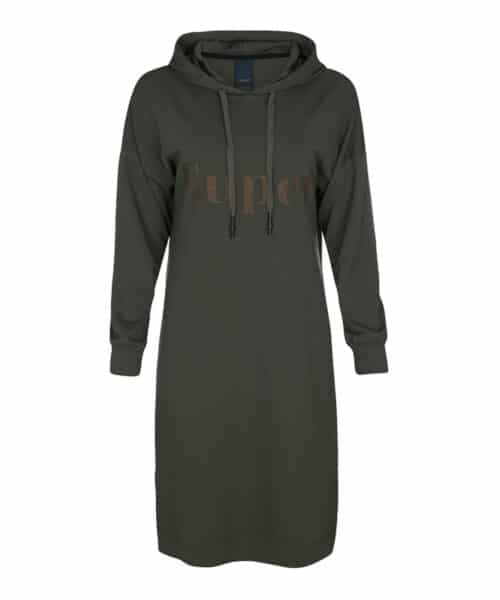 One Two Luxzuz Sweatla Dress Army