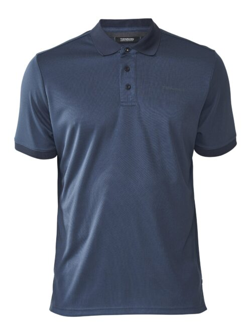 Tenson Polo Brad Dark Grey