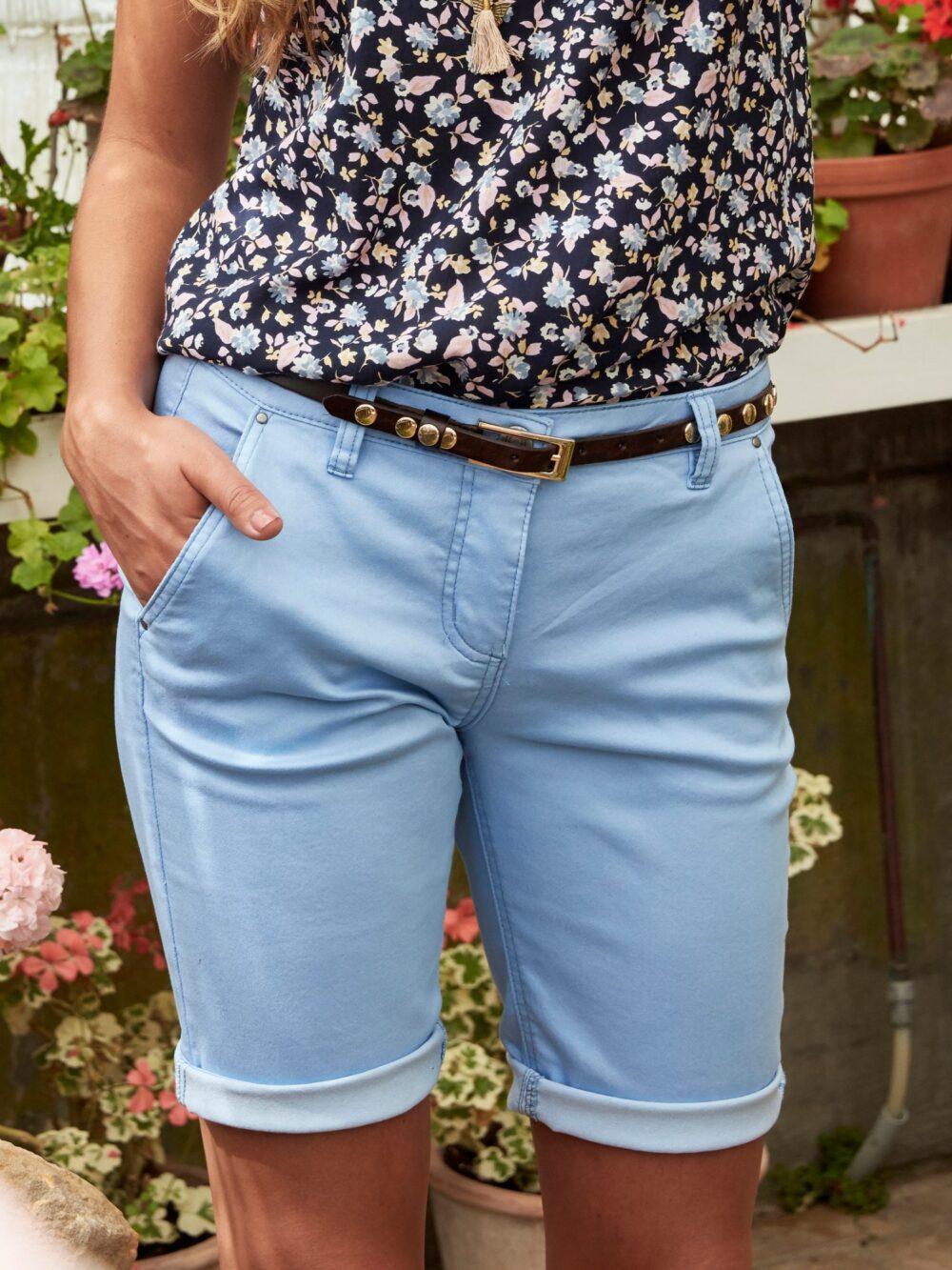 ZE-ZE Nordic Sanne 347 Shorts Light Blue
