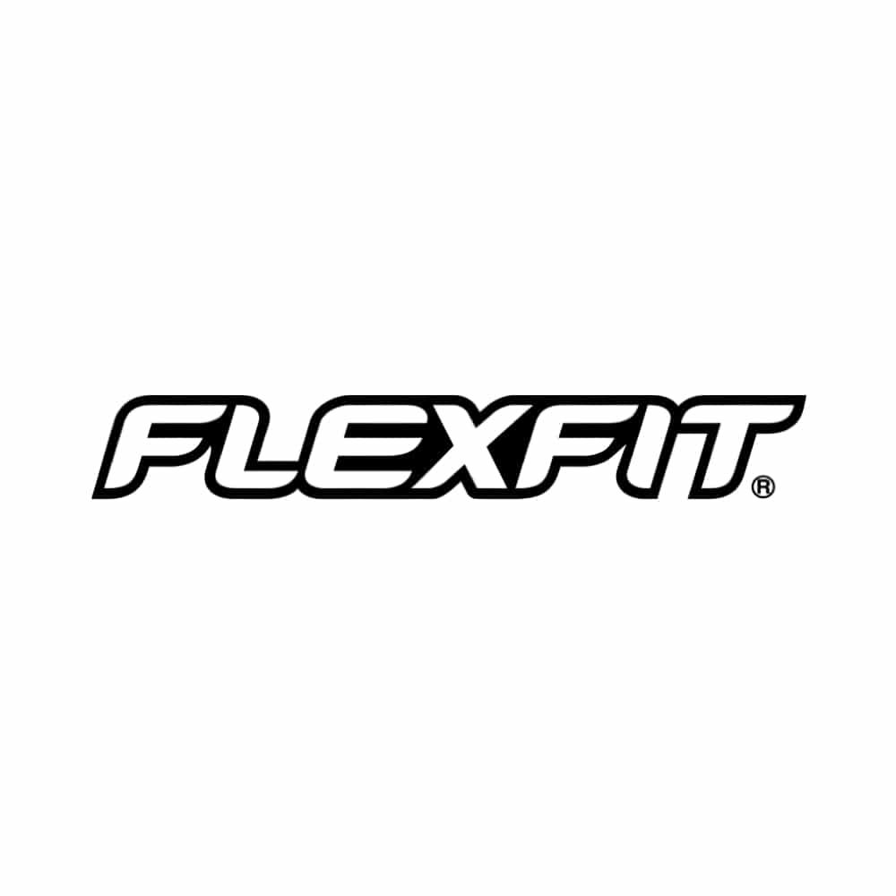 Flexfit logo Tøjkurven.dk