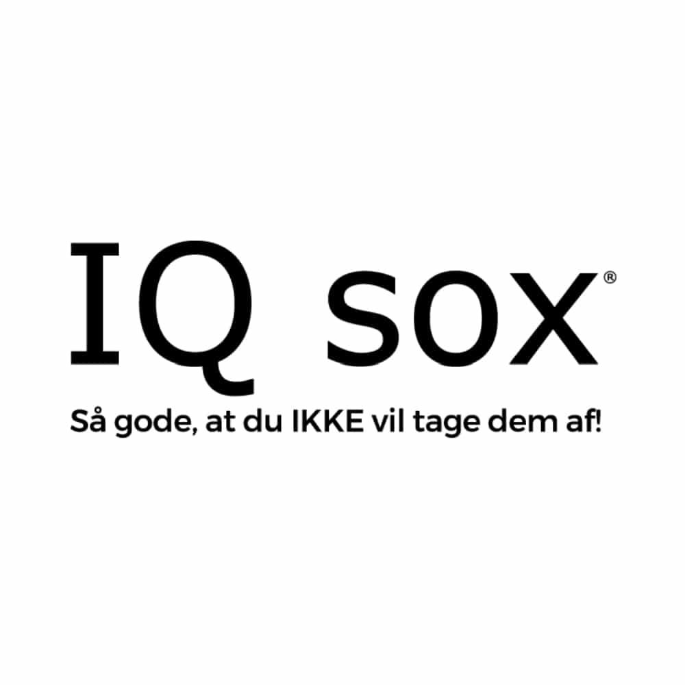 IQ Sox logo Tøjkurven.dk