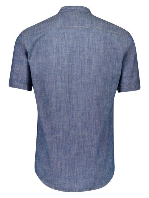 Lindbergh Skjorte Mandarin Collar Denim