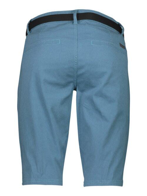Lindbergh White Chino Shorts Sea Blue