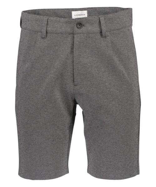 Lindbergh White Pleated Shorts Grey Mix