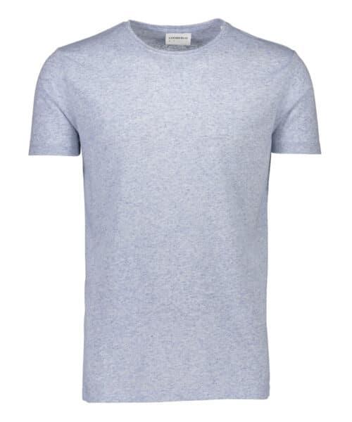 Lindbergh White T-shirt 30-40121 Light Blue