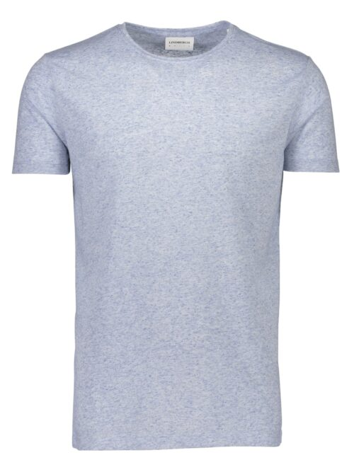 Lindbergh White T-shirt 30-40121 Light Blue