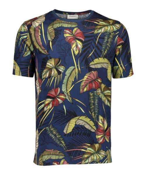 Lindbergh White T-shirt Palm Print