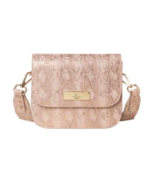 Rosemunde Bag Small B0253-9433 Nougat Snak Foil Gold