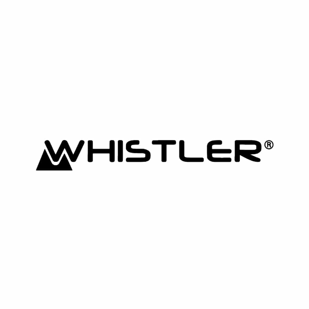 Whistler logo Tøjkurven.dk