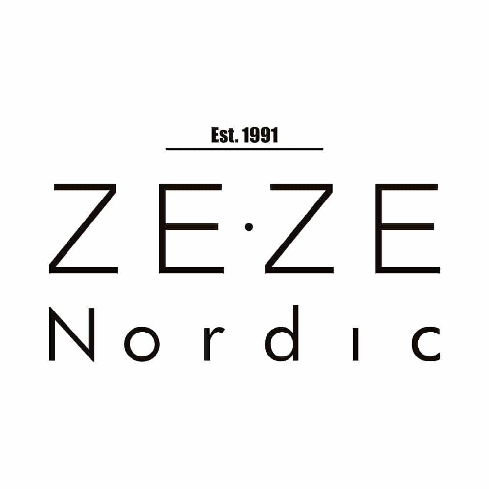 ZE-ZE Nordic logo Tøjkurven.dk