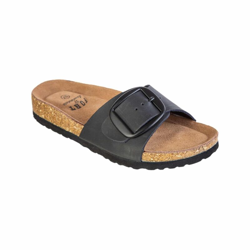 Fort Lauderdale Compta W Full Grain Leather Cork Sandal
