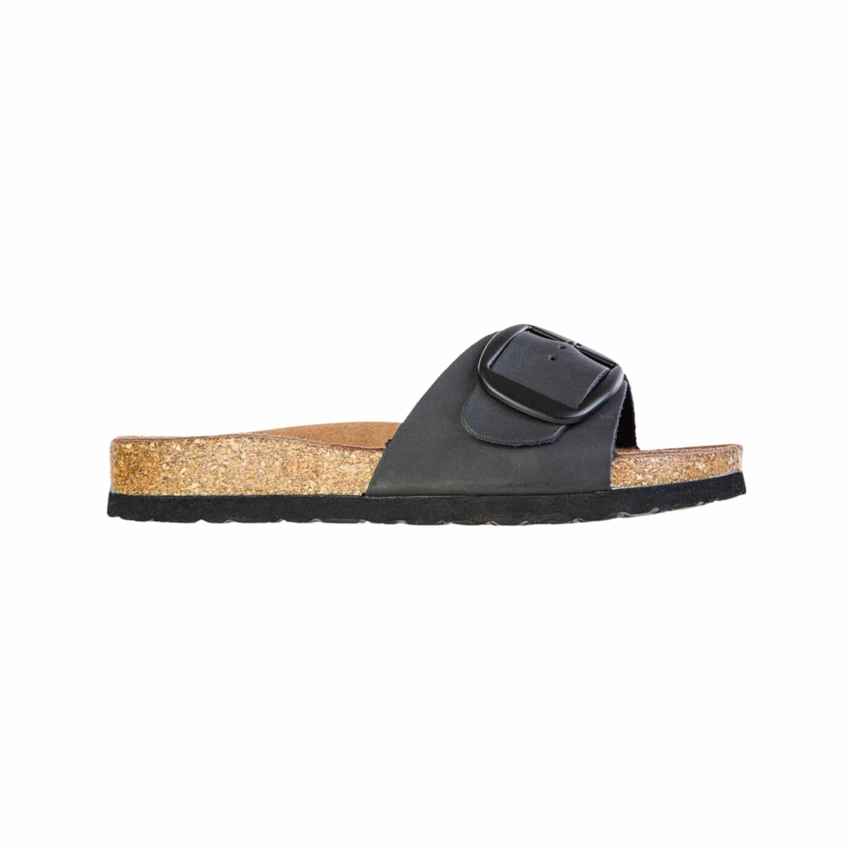 Fort Lauderdale Compta W Full Grain Leather Cork Sandal