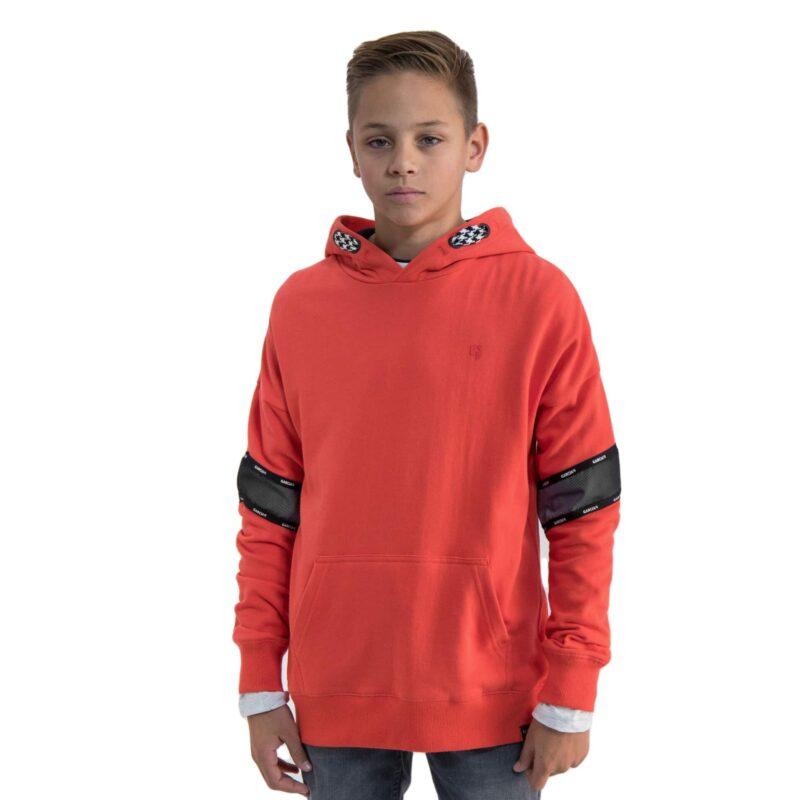Garcia Hoodie N03661 Bright Red