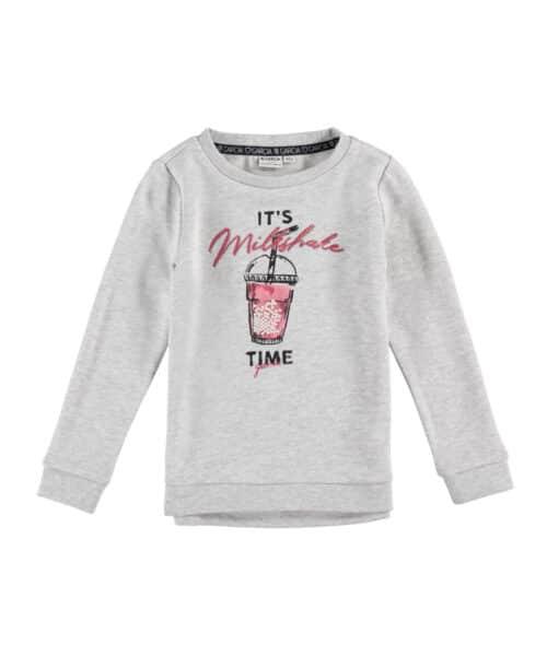Garcia Sweatshirt O04662 Milk Melee