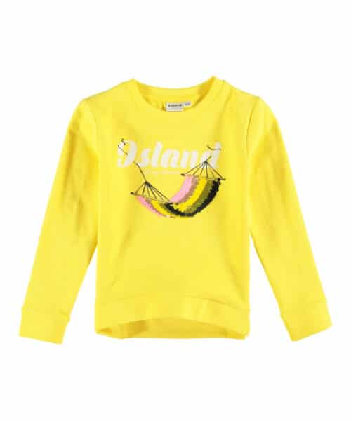 Garcia Sweatshirt P04460 Fire Yellow