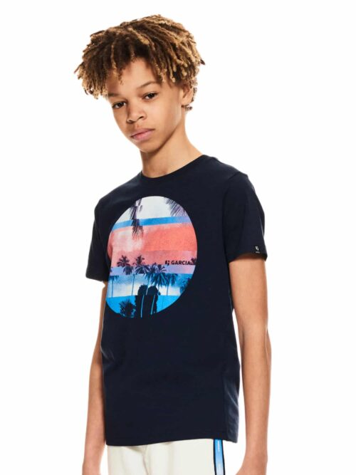 Garcia T-shirt P03600 Dark Moon