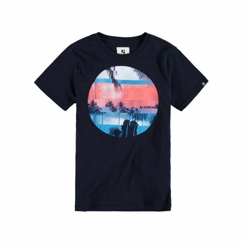 Garcia T-shirt P03600 Dark Moon
