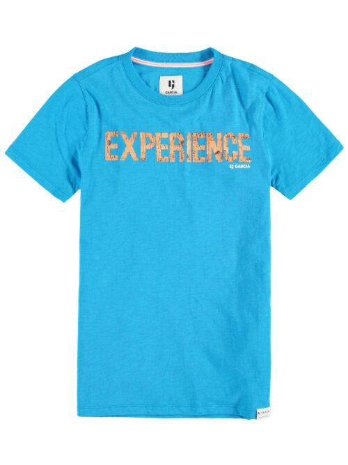 Garcia T-shirt P03603 Vivid Blue