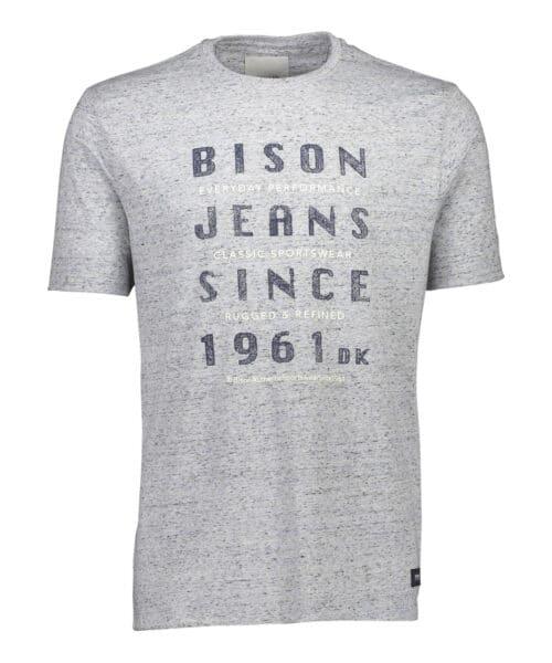 Bison T-shirt 80-400009 LT BLUE