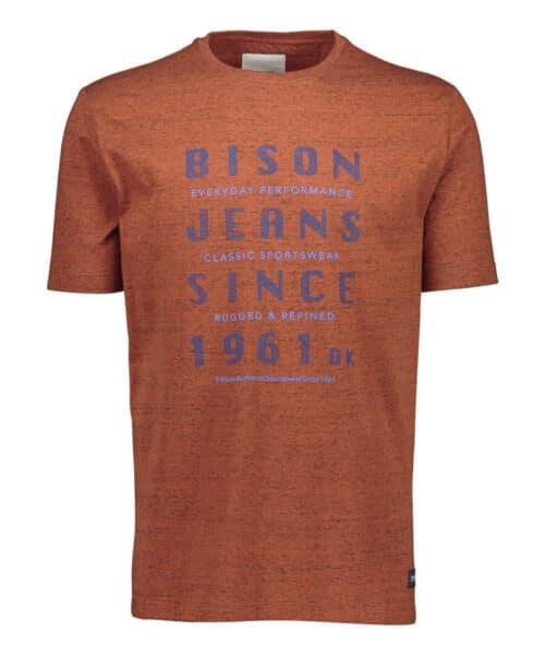 Bison T-shirt 80-400009 ORANGE