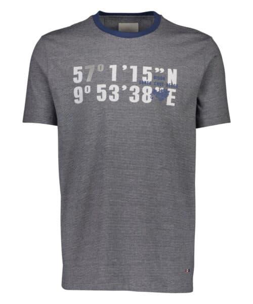 Bison T-shirt 80-400017 NAVY