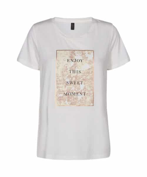 Soyaconcept Geneva FP 5 T-shirt Hvid