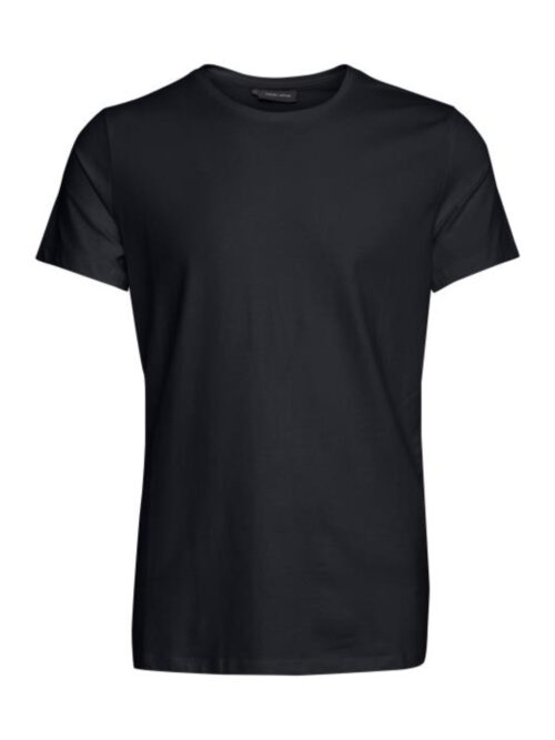 Casual Friday David Crew Neck T-shirt Black