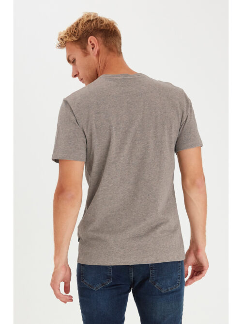 Casual Friday T-shirt THOR Silver Mink Melange