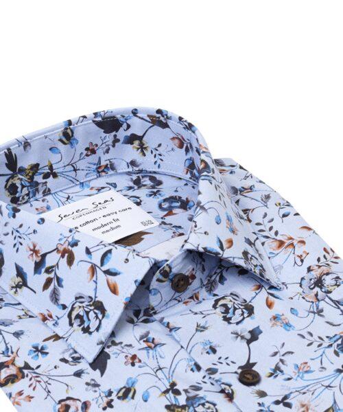 Seven Seas Skjorte BUGATTI Blå
