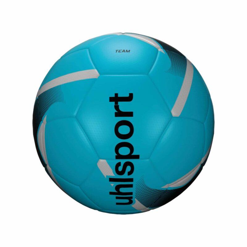 Uhlsport Fodbold TEAM (size 3) iceblue/black/silver
