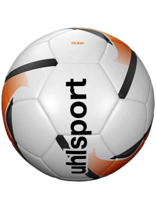 Uhlsport Fodbold TEAM (size 5) white-fluo-orange-black