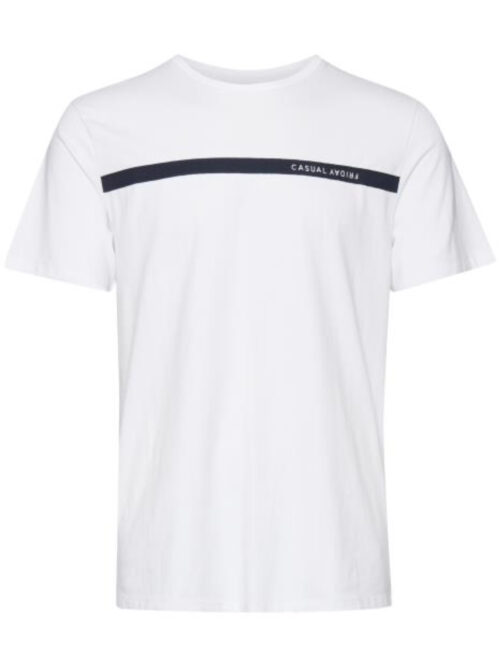 Casual Friday T-shirt Thor Bright White