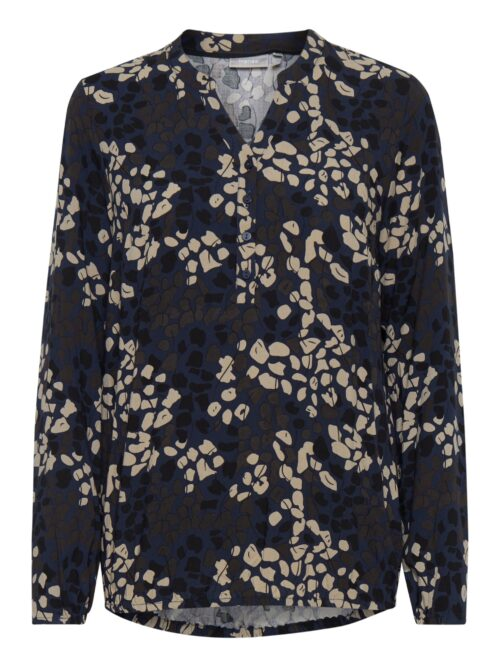 Fransa Macampa 1 Bluse Navy Blazer Mix