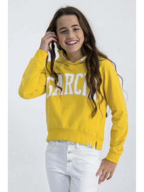Garcia Pige Hættetrøje Yellow Dust